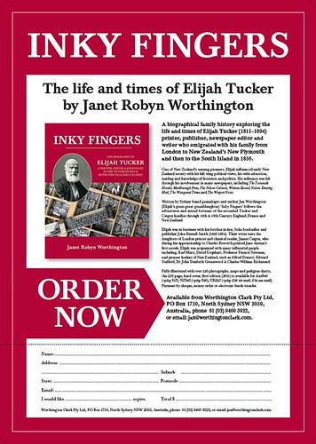Inky Fingers flyer