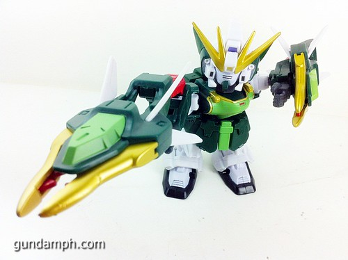 SD Gundam Online Capsule Fighter ALTRON Toy Figure Unboxing Review (21)
