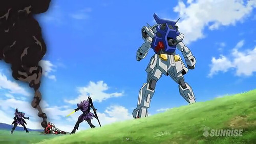 Gundam AGE Episode 16 The Gundam in the Stable Youtube Gundam PH (31)