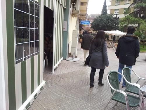 Cerramiento Cafetería Nuevo Turín.