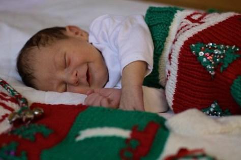 Junior and Christmas Stockings