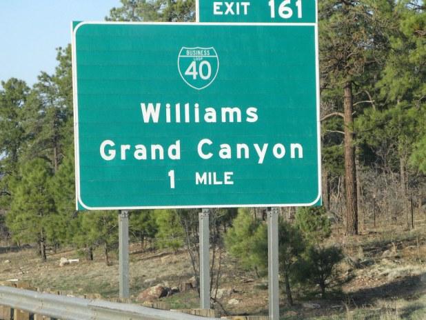 Carretera al Gran Cañón