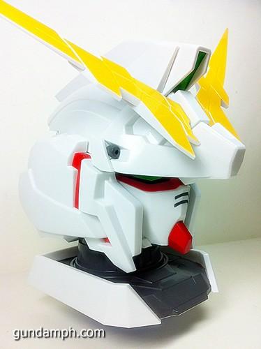 Banpresto Gundam Unicorn Head Display  Unboxing  Review (27)