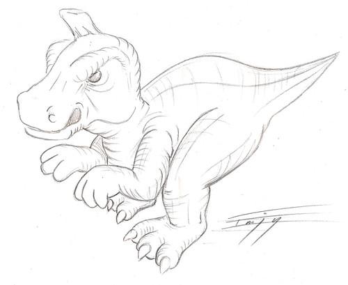 Tsintaosaurus - Dinosaure