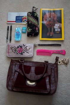 What is in my purse?