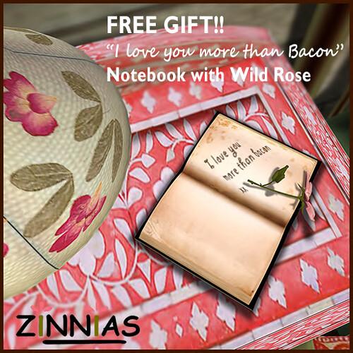 Zinnias Love You Gift