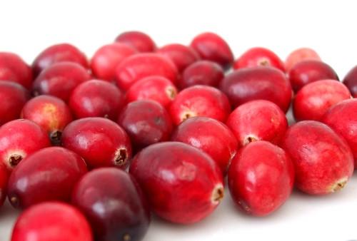 Cranberries waiting for their bath