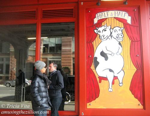 Half & Half Cow