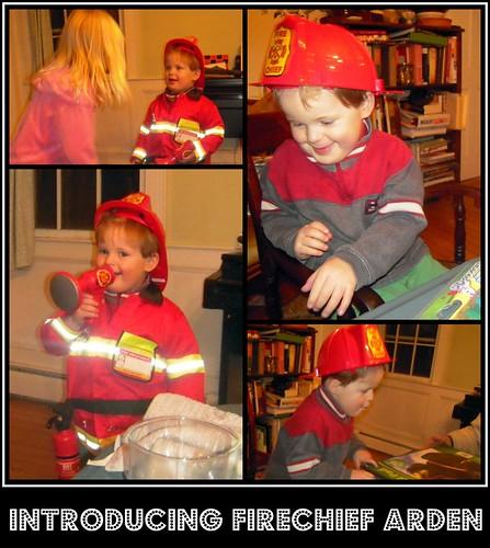 arden's fireman suit