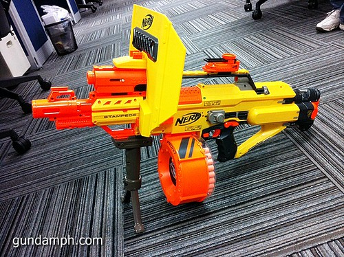 NERF Sale 50% Off Stampede Raider Recon Unboxing Review (77)