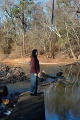 Lynda at Calhoun Mil Dam