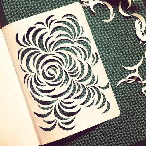 Sketchbook project work-in-progress