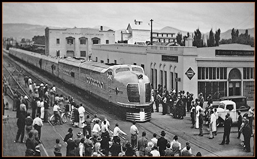 Reno Nevada Railroad Photos by Loco Steve