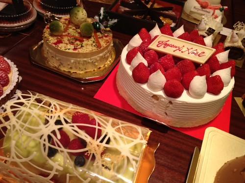 ケーキのアップその2@甘党男子3周年&Xmasスイーツ交流会