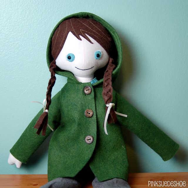 angel doll coat