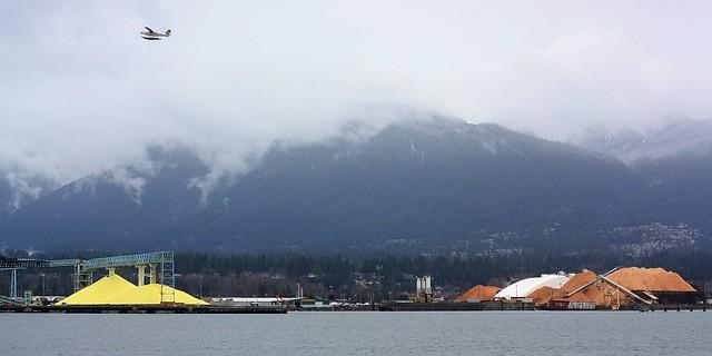 North Shore, Stanley Park, Burrard Inlet, Vancouver