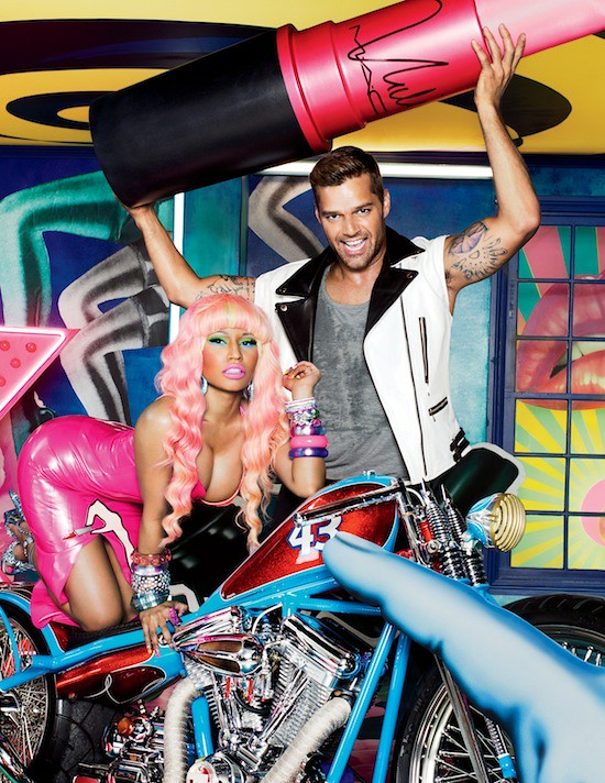 Ricky and Nicki for Viva Glam 2012 - Promotional Photo (1) copy