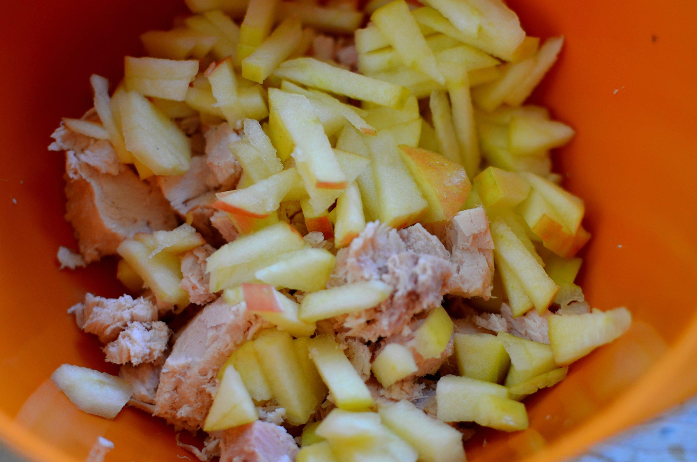 tuna and apple