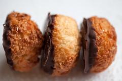 Coconut Chocolate Macaroon