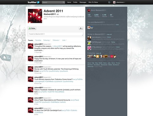 Twitter Advent Calendar: Day 7, Advent2011