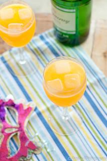 Week 1 - Gin Sparkler Cocktail