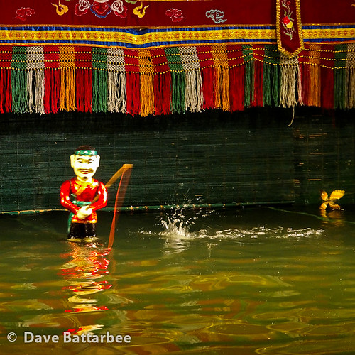 Water Puppets - The Fisherman