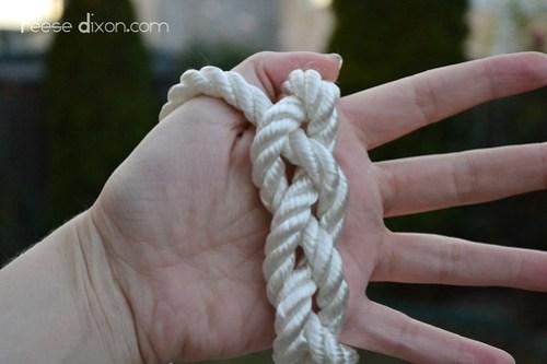 Rope Bracelet Tutorial Step 5