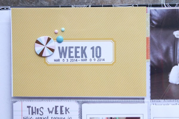 2014 Project Life Week 10