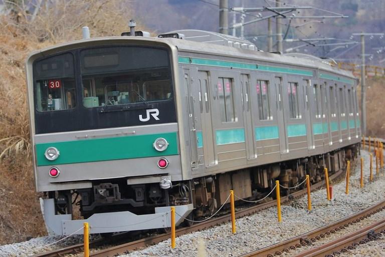 埼京線205系ハエ30編成 海外譲渡輸送
