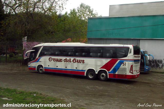 Cruz del Sur - Llau Llao (Chiloé) - Marcopolo Paradiso 1200 / Mercedes Benz (