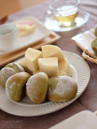 抹茶のパン 20160524-DSCF8998