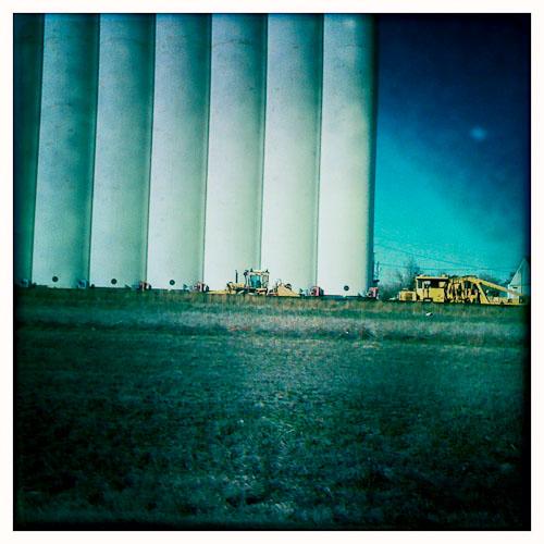 Mullinville Kansas Grain Elevator