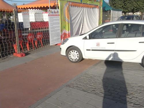 Carril Bici de la Plaza de las tres Culturas.