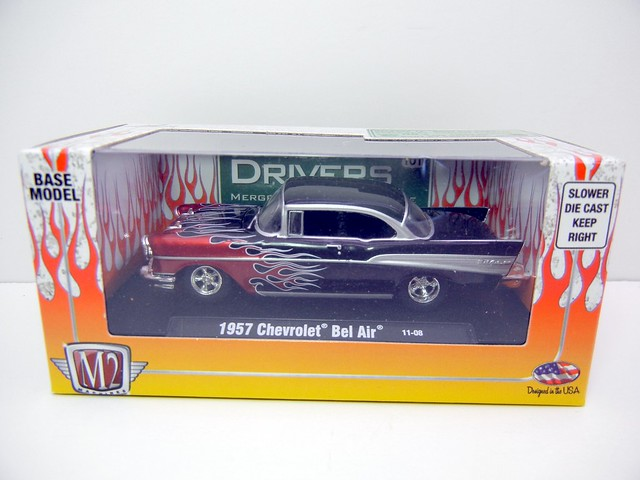 M2 DRIVERS FLAMED 1957 CHEVY BEL AIR (1)