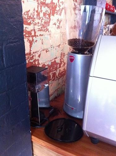 decaf grinder, nikta espresso bar, leura
