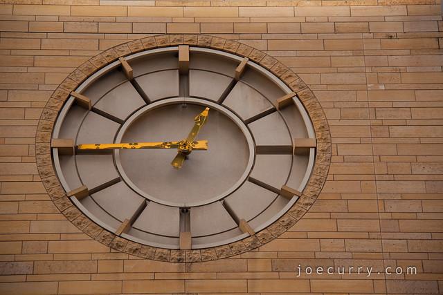 Clock at University of St. Thomas - Minneapolis campus