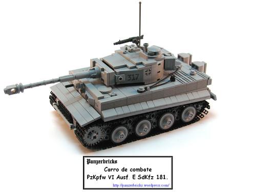 Panzer VI Tiger I de Panzerbricks