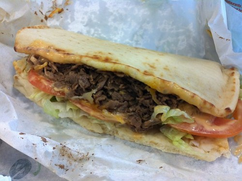 Subway Chipotle Beef Teriyaki & Cheese