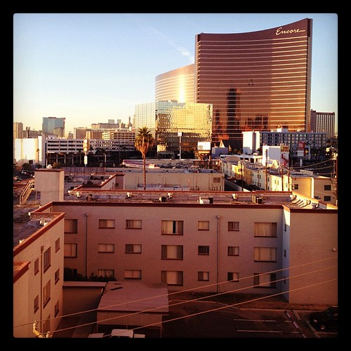 Sunrise at the Wynn