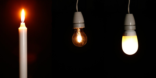 Evolution of light