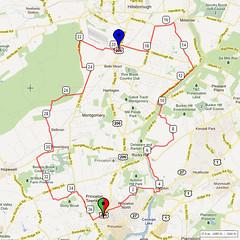04. Bike Route Map. Princeton NJ
