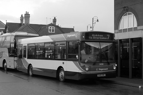 Dennis Dart SLF/Alexander ALX200, S480 BWC, Stagecoach in Manchester