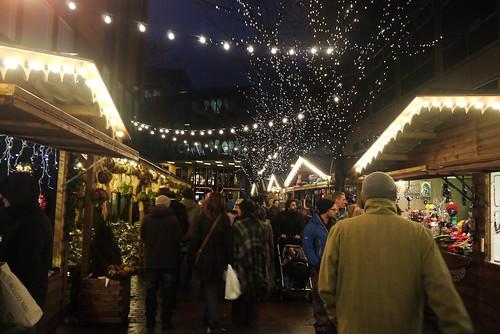 Brazenose Street, Manchester, Christmas Market