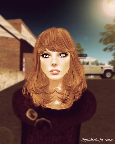 Girl 30 (light brown)