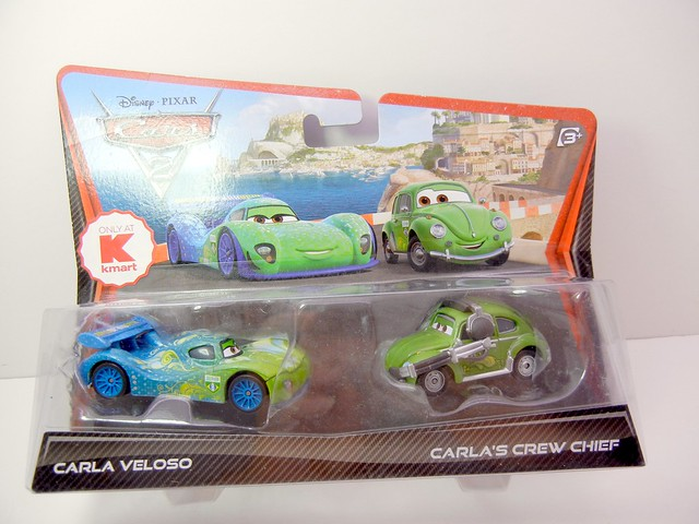 DISNEY CARS 2 KMART CREW CHIEF 2 PACK CARLA VELOSO'S CREW CHIEF (1)