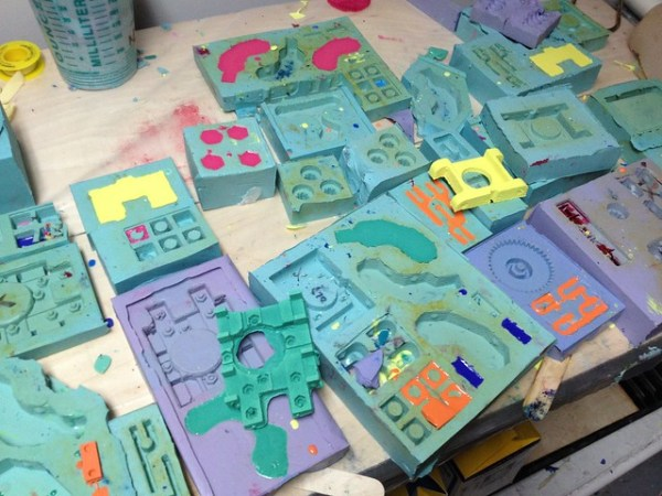 Molds for cast parts