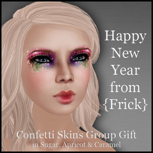 Frick - Confetti Skins Group Gift