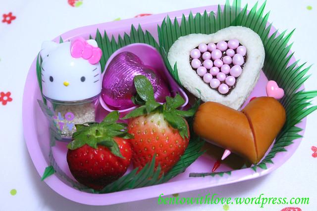 Hearts Bento