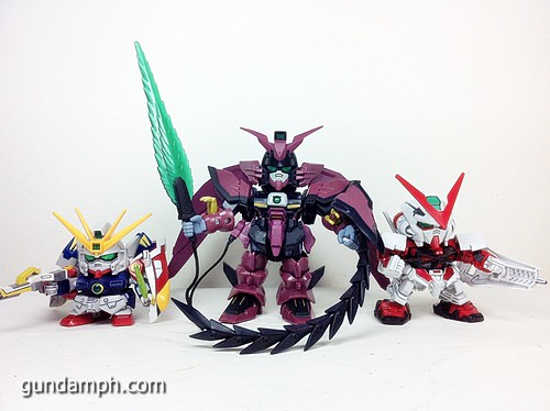 SD Gundam Online Capsule Fighter EPYON Toy Figure Unboxing Review (32)