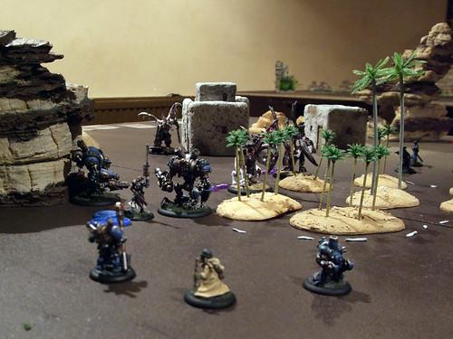 Warmachine 25pt League Game vs Legion